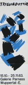Tryggvadóttir, Nína - 1963 - Galerie Parnass Wuppertal
