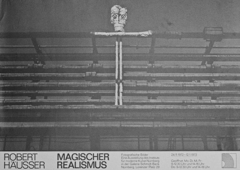 Hausser Robert 1972 Magischer Realismus Kunstlerplakate