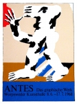 Poster: Antes, Horst - 1968 - Worpsweder Kunsthalle