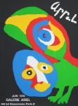 Appel, Karel - 1974 - Galerie Ariel