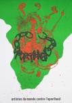 Arman - 1983 - Artistes contre lapartheid