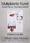 Beuys, Joseph - 1980 - Wilhelm-Hack-Museum, Ludwigshafen