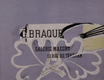 Poster: Braque, Georges - 1952 - Galerie Maeght
