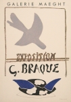 Poster: Braque, Georges - 1959 - (Exposition Braque) Galerie Maeght