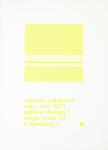 Calderara, Antonio - 1971 - Galerie design 1