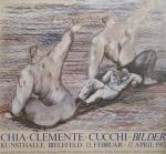 Chia, Sandro - 1983 - (mit Clemente und Cucchi) Kunsthalle Bielefeld