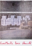 Poster: Christo (Javacheff) - 1983 - (Wrapped Reichstag) Kunsthalle Bonn