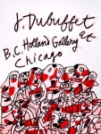 Poster: Dubuffet, Jean - 1976 - Holland Gallery Chicago