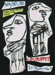 Dubuffet, Jean - 1982 - (20 Psycho-sites) Galerie Bucher