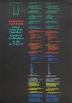 Gerstner, Karl - 1972 - (Color Sounds) Galerie Denise René Hans Mayer