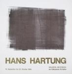 Hartung, Hans - 1966 - Galerie im Erker