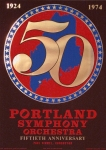 Poster: Indiana, Robert - 1974 - (50th Anniversary) Portland Symphony Orchestra