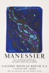 Poster: Manessier, Alfred - 1959 - Galerie Rauch