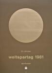 Mavignier, Almir - 1981 - Weltspartag