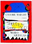 Miró, Joan - 1956 - (Terres de grand feu) Galerie Maeght (spätere Auflage)