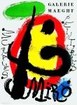 Miró, Joan - 1961 - (Murales, Peintures) Galerie Maeght
