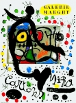 Miró, Joan - 1965 - Galerie Maeght (Cartons)