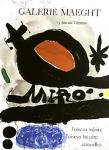 Miró, Joan - 1967 - (Loiseau solaire) Galerie Maeght