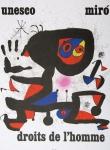 Miró, Joan - 1974 - Unesco - droits de lhomme