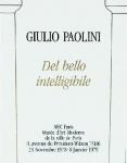 Paolini, Giulio - 1978 - Musée dArt Moderne