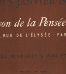 Picasso, Pablo - 1948 -  Maison de la Pensée Francaise (Poteries de Picasso)