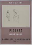 Picasso, Pablo - 1954 - (Dessins 1903-1907) Galerie Berggruen