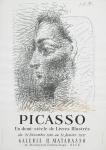 Picasso, Pablo - 1956 - (Un demi-siècle de Livres Illustrés) Galerie Matarasso