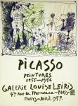 Picasso, Pablo - 1957 - Galerie Leiris (Peintures 1955-56)