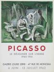 Picasso, Pablo - 1962 - (Le déjeuner sur lherbe) Galerie Leiris