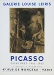 Picasso, Pablo - 1964 - (Peintures 1962-63) Galerie Leiris