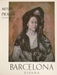 Poster: Picasso, Pablo - 1966 - (Madame Canals) Museo Picasso