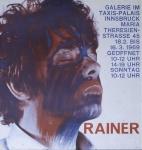 Rainer, Arnulf - 1969 - Galerie im Taxispalais Innsbruck