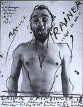 Rainer, Arnulf - 1975 - (Zeichnungen, Bilder...) Galerie Krinzinger Innsbruck
