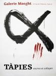 Tàpies, Antoni - 1968 - Galerie Maeght (Encres et collages)