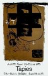 Tàpies, Antoni - 1975 - (Art 675) Erker Galerie St. Gallen