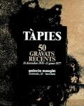 Tàpies, Antoni - 1976 - (50 Gravats) Galeria Maeght Barcelona