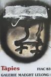 Tàpies, Antoni - 1983 - (Fiac) Galerie Maeght