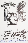 Poster: Tinguely, Jean - 1983 - Stedelijk Museum Amsterdam