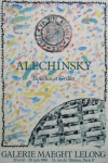 Alechinsky, Pierre - 1986 - (Bouches et Grilles) Galerie Maeght