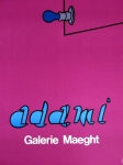 Adami, Valerio - 1970 - (Glühbirne) Galerie Maeght