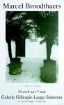 Broodthaers, Marcel - 1982 - Galerie Gillespie-Laage-Salomon Paris