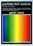 Alviani, Getulio - 1976 - Portfolio 9x5 konkret (waagerecht) Hamburg