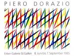 Dorazio, Piero - 1985 - Erker Galerie St.Gallen
