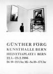Förg, Günther - 1986 - Kunsthalle Bern