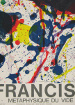 Francis, Sam - 1987 - Edition Delille Paris (Michel Waldberg - Metaphysique du Vide)