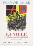 Léger, Fernand - 1959 - (La Ville) Galerie Leiris