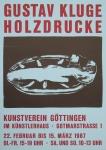 Kluge, Gustav - 1987 - Kunstverein Göttingen