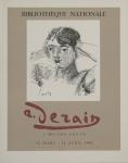 Derain, André - 1955 - Bibliothèque Nationale