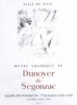 Dunoyer de Ségonzac, André - 1955 - Galerie des Ponchettes