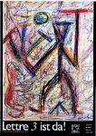 Penck, A.R. - 1988 - Poster für Lettre